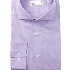 NWT Nordstrom Rack Purple Men's button down
